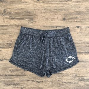 Soft Grey Lounge Shorts